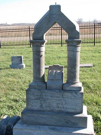 JOHNSON, ETTJE - Turner County, South Dakota | ETTJE JOHNSON - South Dakota Gravestone Photos