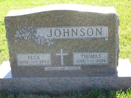JOHNSON, THOMAS - Turner County, South Dakota | THOMAS JOHNSON - South Dakota Gravestone Photos