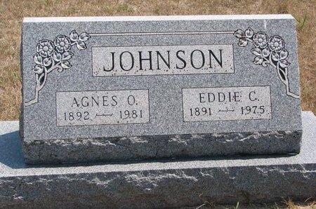 JOHNSON, EDDIE C. - Turner County, South Dakota | EDDIE C. JOHNSON - South Dakota Gravestone Photos