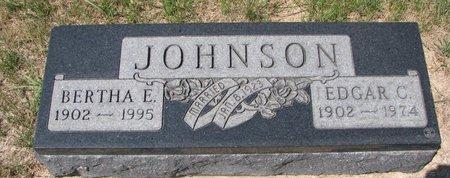 JOHNSON, EDGAR C. - Turner County, South Dakota | EDGAR C. JOHNSON - South Dakota Gravestone Photos