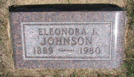 JOHNSON, ELEONORA IDA - Turner County, South Dakota | ELEONORA IDA JOHNSON - South Dakota Gravestone Photos