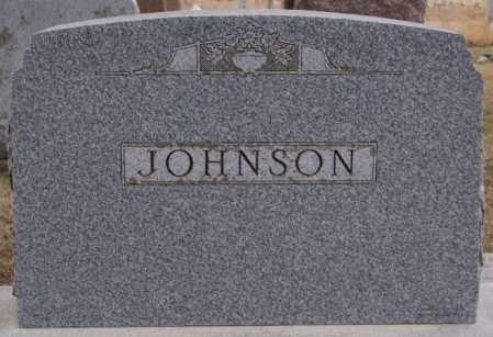 JOHNSON, FAMILY MARKER - Turner County, South Dakota | FAMILY MARKER JOHNSON - South Dakota Gravestone Photos