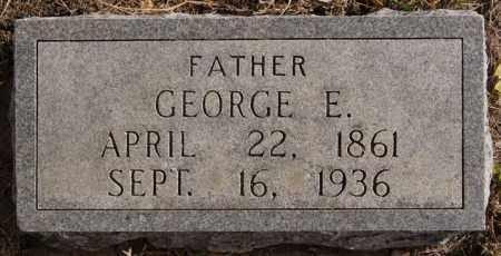 JOHNSON, GEORGE E - Turner County, South Dakota | GEORGE E JOHNSON - South Dakota Gravestone Photos