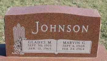 JOHNSON, GLADYS M - Turner County, South Dakota | GLADYS M JOHNSON - South Dakota Gravestone Photos