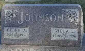 JOHNSON, VIOLA E - Turner County, South Dakota | VIOLA E JOHNSON - South Dakota Gravestone Photos
