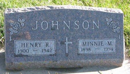 JOHNSON, MINNIE M. - Turner County, South Dakota | MINNIE M. JOHNSON - South Dakota Gravestone Photos