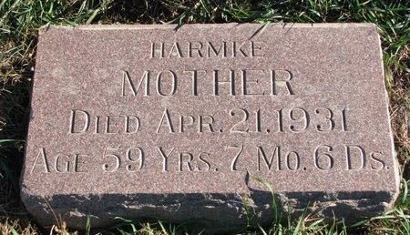 JOHNSON, HARMKE - Turner County, South Dakota | HARMKE JOHNSON - South Dakota Gravestone Photos
