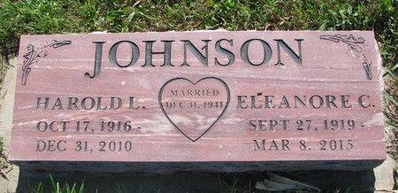 JOHNSON, HAROLD L. - Turner County, South Dakota   HAROLD L. JOHNSON - South Dakota Gravestone Photos
