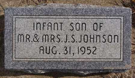 JOHNSON, INFANT SON - Turner County, South Dakota   INFANT SON JOHNSON - South Dakota Gravestone Photos