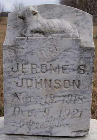 JOHNSON, JEROME S - Turner County, South Dakota   JEROME S JOHNSON - South Dakota Gravestone Photos