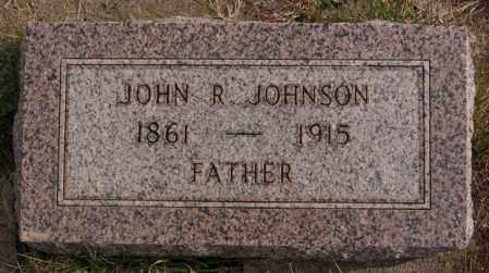 JOHNSON, JOHN R - Turner County, South Dakota | JOHN R JOHNSON - South Dakota Gravestone Photos
