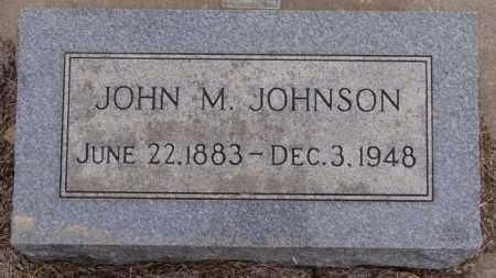 JOHNSON, JOHN M - Turner County, South Dakota   JOHN M JOHNSON - South Dakota Gravestone Photos