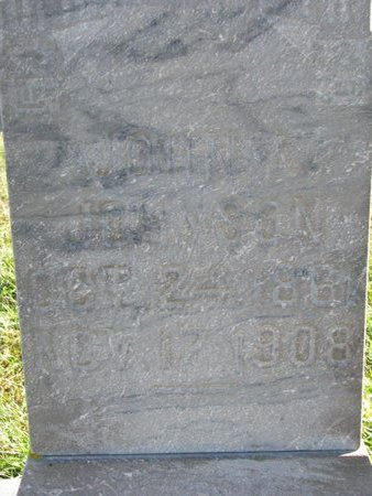 JOHNSON, JOHN A. (CLOSE UP) - Turner County, South Dakota | JOHN A. (CLOSE UP) JOHNSON - South Dakota Gravestone Photos