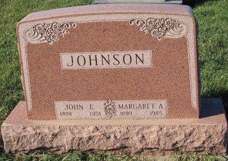 JOHNSON, JOHN E. - Turner County, South Dakota | JOHN E. JOHNSON - South Dakota Gravestone Photos