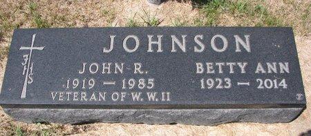 JOHNSON, JOHN R. - Turner County, South Dakota | JOHN R. JOHNSON - South Dakota Gravestone Photos