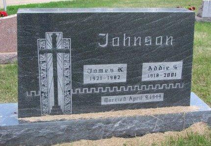 JOHNSON, JAMES K. - Turner County, South Dakota | JAMES K. JOHNSON - South Dakota Gravestone Photos