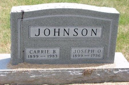 JOHNSON, CARRIE B. - Turner County, South Dakota   CARRIE B. JOHNSON - South Dakota Gravestone Photos
