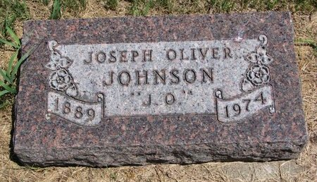 JOHNSON, JOSEPH OLIVER - Turner County, South Dakota | JOSEPH OLIVER JOHNSON - South Dakota Gravestone Photos