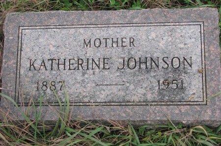 JOHNSON, KATHERINE - Turner County, South Dakota | KATHERINE JOHNSON - South Dakota Gravestone Photos
