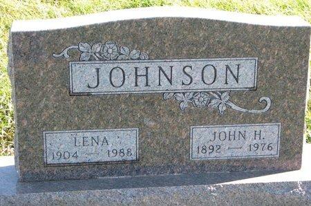 JOHNSON, LENA - Turner County, South Dakota | LENA JOHNSON - South Dakota Gravestone Photos