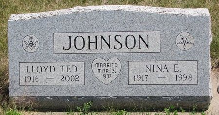 JOHNSON, NINA E. - Turner County, South Dakota | NINA E. JOHNSON - South Dakota Gravestone Photos