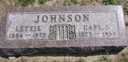 JOHNSON, LETTIE - Turner County, South Dakota | LETTIE JOHNSON - South Dakota Gravestone Photos