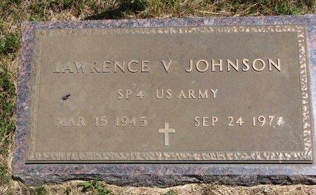 JOHNSON, LAWRENCE V. (MILITARY) - Turner County, South Dakota   LAWRENCE V. (MILITARY) JOHNSON - South Dakota Gravestone Photos
