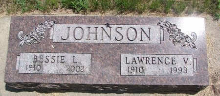 JOHNSON, LAWRENCE V. - Turner County, South Dakota | LAWRENCE V. JOHNSON - South Dakota Gravestone Photos