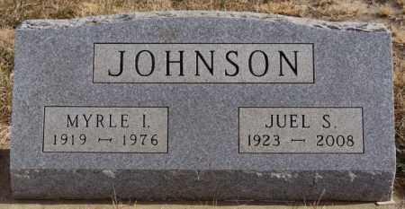 JOHNSON, MYRLE I - Turner County, South Dakota | MYRLE I JOHNSON - South Dakota Gravestone Photos