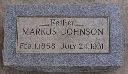 JOHNSON, MARKUS - Turner County, South Dakota | MARKUS JOHNSON - South Dakota Gravestone Photos