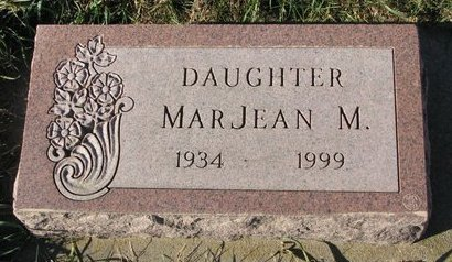 JOHNSON, MARJEAN MARIE - Turner County, South Dakota | MARJEAN MARIE JOHNSON - South Dakota Gravestone Photos