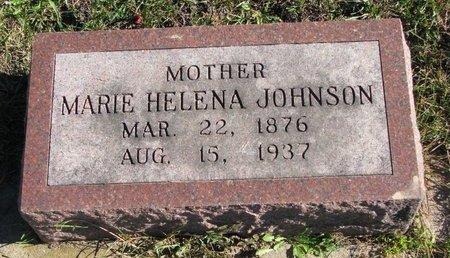 JOHNSON, MARIE HELENA - Turner County, South Dakota   MARIE HELENA JOHNSON - South Dakota Gravestone Photos