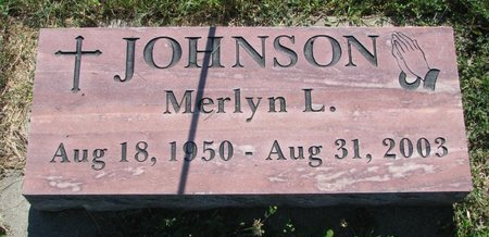 JOHNSON, MERLYN L. - Turner County, South Dakota | MERLYN L. JOHNSON - South Dakota Gravestone Photos