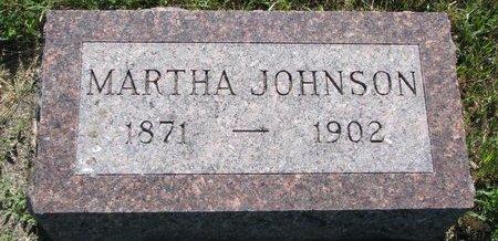 JOHNSON, MARTHA - Turner County, South Dakota | MARTHA JOHNSON - South Dakota Gravestone Photos