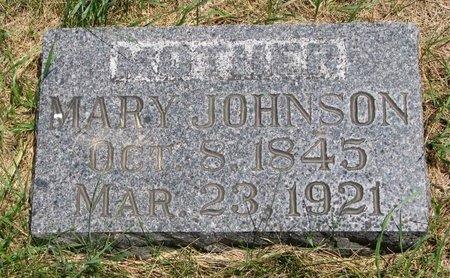 JOHNSON, MARY - Turner County, South Dakota | MARY JOHNSON - South Dakota Gravestone Photos