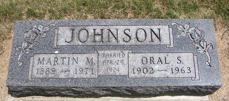 JOHNSON, ORAL S. - Turner County, South Dakota | ORAL S. JOHNSON - South Dakota Gravestone Photos
