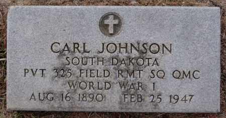 JOHNSON, CARL (WWI) - Turner County, South Dakota | CARL (WWI) JOHNSON - South Dakota Gravestone Photos