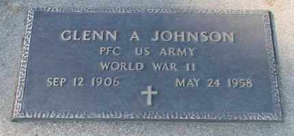 JOHNSON, GLENN A (WWII) - Turner County, South Dakota | GLENN A (WWII) JOHNSON - South Dakota Gravestone Photos