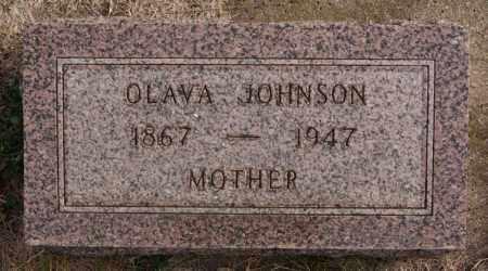 JOHNSON, OLAVA - Turner County, South Dakota   OLAVA JOHNSON - South Dakota Gravestone Photos