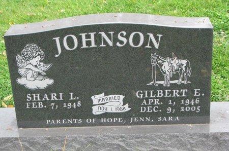 JOHNSON, GILBERT E. - Turner County, South Dakota | GILBERT E. JOHNSON - South Dakota Gravestone Photos