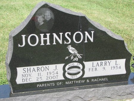 JOHNSON, LARRY L. - Turner County, South Dakota | LARRY L. JOHNSON - South Dakota Gravestone Photos