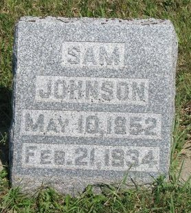 JOHNSON, SAM - Turner County, South Dakota | SAM JOHNSON - South Dakota Gravestone Photos