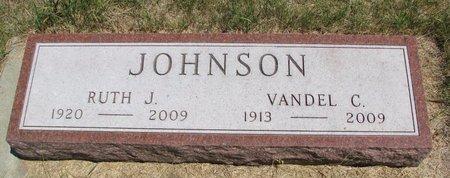 JOHNSON, VANDEL C. - Turner County, South Dakota | VANDEL C. JOHNSON - South Dakota Gravestone Photos