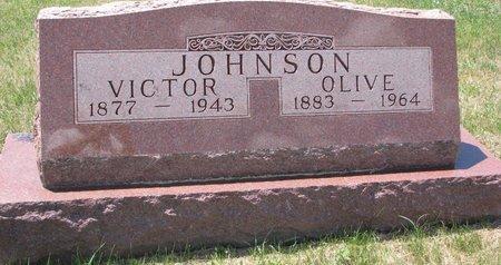 JOHNSON, VICTOR - Turner County, South Dakota | VICTOR JOHNSON - South Dakota Gravestone Photos