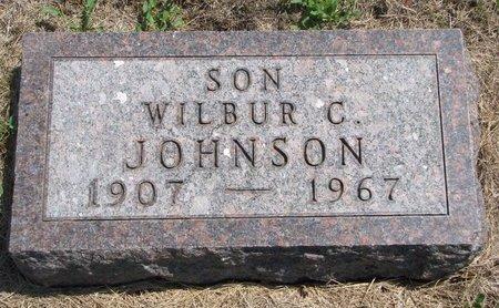 JOHNSON, WILBUR C. - Turner County, South Dakota   WILBUR C. JOHNSON - South Dakota Gravestone Photos