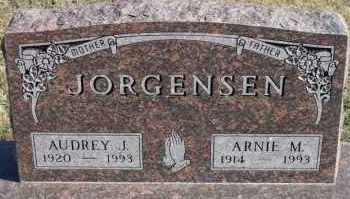 JORGENSEN, ARNIE M - Turner County, South Dakota | ARNIE M JORGENSEN - South Dakota Gravestone Photos