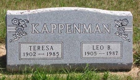 KAPPENMAN, LEO B. #1 - Turner County, South Dakota | LEO B. #1 KAPPENMAN - South Dakota Gravestone Photos