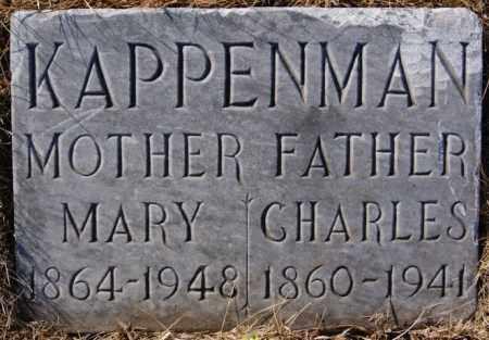 KAPPENMAN, MARY - Turner County, South Dakota | MARY KAPPENMAN - South Dakota Gravestone Photos