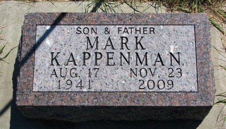 KAPPENMAN, MARK - Turner County, South Dakota | MARK KAPPENMAN - South Dakota Gravestone Photos