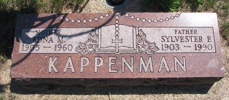 KAPPENMAN, SYLVESTER F. - Turner County, South Dakota   SYLVESTER F. KAPPENMAN - South Dakota Gravestone Photos